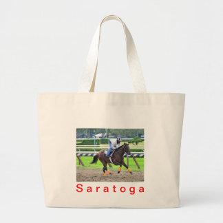 Saratoga Morning Workouts Jumbo Tote Bag
