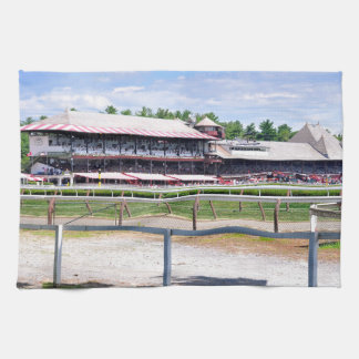 Saratoga Race Course and Clare Court Kitchen Towel