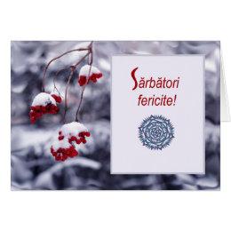 Romanian christmas cards photocards invitations more sarbatori fericite romanian christmas card m4hsunfo
