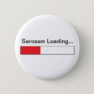 Sarcasm 2 Inch Round Button