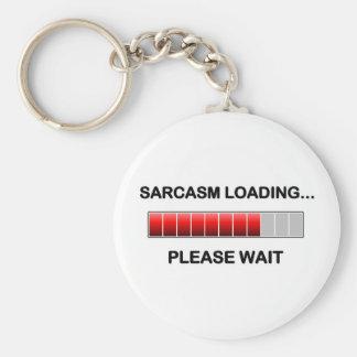 Sarcasm Loading Keychain