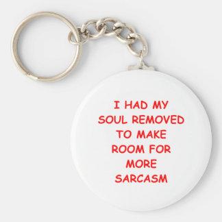SARCASM.png Keychain