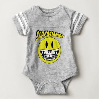 Sarcasmman Baby Bodysuit