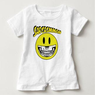 Sarcasmman Baby Romper