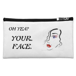 sarcastic cosmetic bag