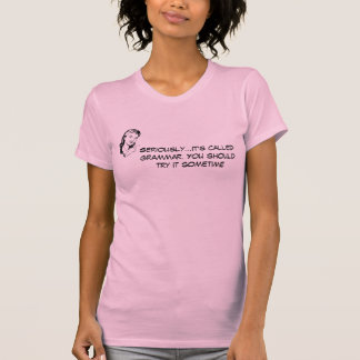 Sarcastic Grammar T-Shirt