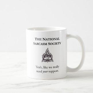 Sarcastic Mug - The National Sarcasm Society