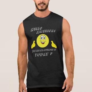 Sarcastic Offensive Humor Sleeveless Shirt
