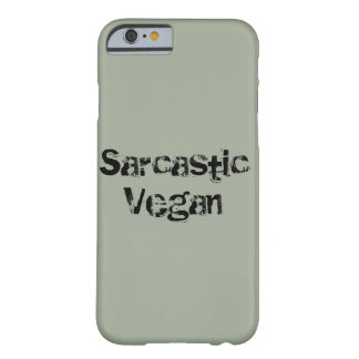 Sarcastic Vegan Iphone 7 Barely There Phone Case