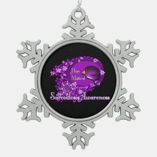 Sarcoidosis Snowflake Ornament