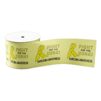 """Sarcoma Cancer Fight for the Cure 3"""" Grosgrain Ribbon"""