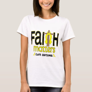 Sarcoma Faith Matters Cross 1 T-Shirt