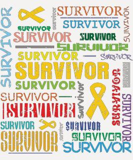 Sarcoma Survivor Collage.png T-shirt