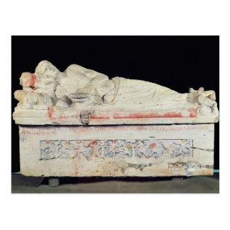 Sarcophagus, Etruscan Postcard