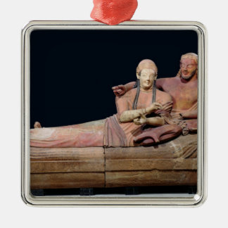 Sarcophagus of a married couple, 525-500 BC Metal Ornament