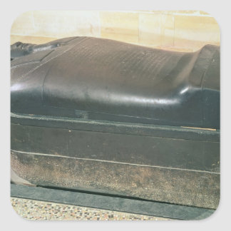 Sarcophagus of Eshmunazar, King of Sidon Square Sticker