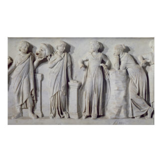 Sarcophagus of the Muses Poster