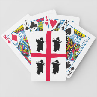 Sardinia, 4 volte bicycle playing cards