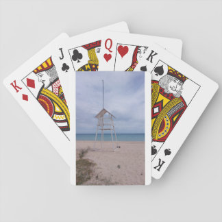 Sardinia beach playing cards