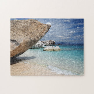Sardinia beach with big rocks jigsaw puzzle
