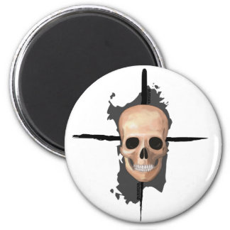 Sardinia, Death skull - Magnet
