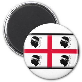 Sardinia Flag Magnet