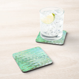 Sardinia Hard Plastic Coasters Set
