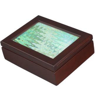 Sardinia Keepsake Box by Artist C.L. Brown