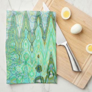 Sardinia Kitchen Towel by Artist C.L. Brown