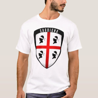 Sardinia, Shield Crest T-Shirt