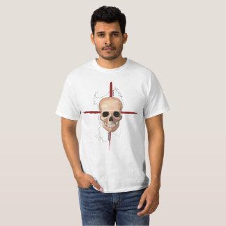 Sardinia, Skull cross T-Shirt (white)
