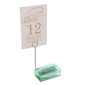Sardinia Table Card Holder by C.L. Brown