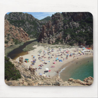 Sardinian beach mouse pad