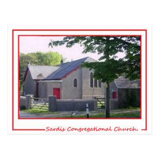 Sardis Congregational Church Postcards