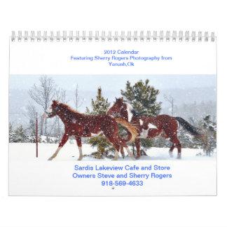 Sardis Lakeview Cafe Wall Calendar