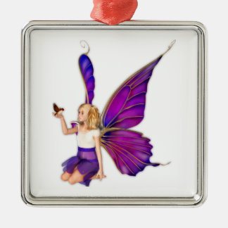 Sarella Fairy Metal Ornament
