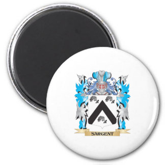 Sargent Coat of Arms - Family Crest Magnets