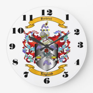 Sargent Coat of Arms Wall Clock