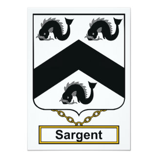 Sargent Family Crest Announcement