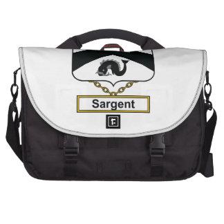 Sargent Family Crest Laptop Commuter Bag