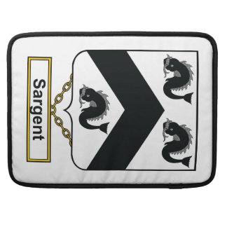 Sargent Family Crest Sleeve For MacBooks
