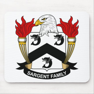 Sargent Family Crest Mouse Pad