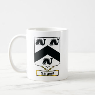 Sargent Family Crest Coffee Mugs