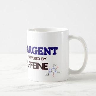 Sargent powered by caffeine mug
