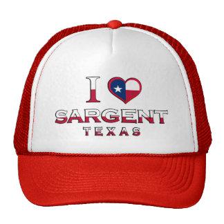 Sargent, Texas Mesh Hats