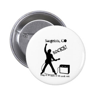 Sargents CO Pinback Buttons