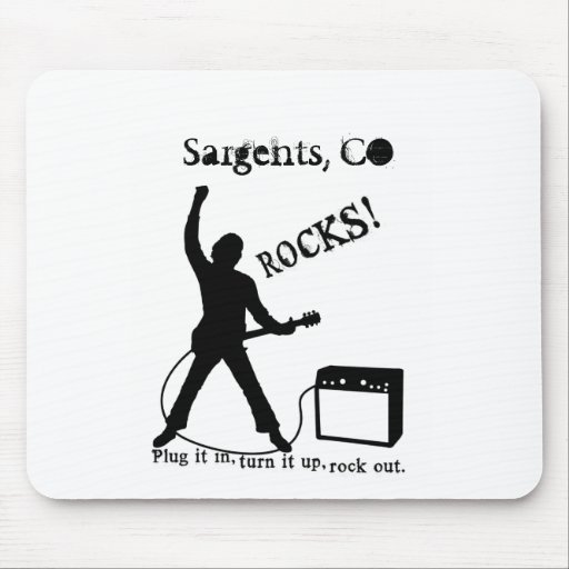 Sargents, CO Mouse Pad