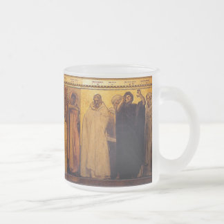 Sargent's Frieze of (Christian) Prophets Frosted Glass Mug