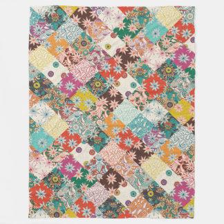 sarilmak patchwork fleece blanket