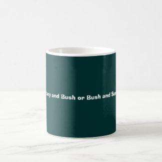 Sarkozy and Bush or Bush and Sarkozy Classic White Coffee Mug